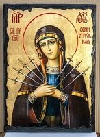 Семистрельная Б.М., икона синайская, 21x28