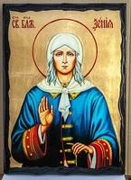 Ксения Петербургская, икона синайская, 30x42