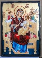 Всецарица Б.М., икона синайская, 21x28
