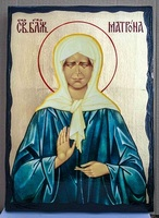Матрона Московская, икона синайская, 30x42