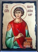 Пантелеймон, икона синайская, 30x42