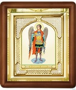 Арх. Михаил, икона аналойная, риза, упаковка, (17 Х 19)