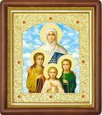 Вера, Надежда, Любовь, и мать их София, средняя аналойная икона (Д-20пс-70)