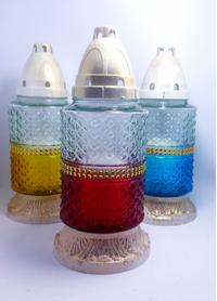 Неугасимая лампада 36п-14 цветная МИКС