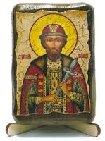 Всеволод, Св.Блгв.Кн., икона под старину, на дереве (8x10)