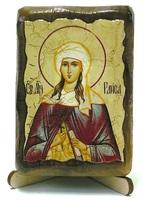 Раиса Св. Мч., икона под старину, на дереве (8x10)