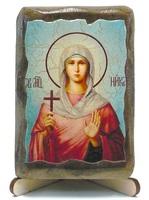Ника Св.Мч., икона под старину, на дереве (8x10)