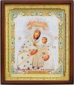 Мариампольская Б.М., икона в деревянной рамке (Д-18пс-74)