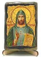 Кирилл, Св.Р.Ап.,  икона под старину, на дереве (8x10)