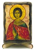 Анатолий, Св.Мч., икона под старину, на дереве (8x10)