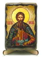 Вячеслав Чешский, икона под старину, на дереве (8x10)