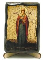 Ева, Св.ВлМч.(рост), икона под старину, на дереве (8x10)