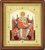 Спиридон Тримифунтский (трон), средняя аналойная икона (Д-20пс-76)