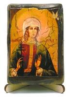Ирина, Св.Муч., икона под старину, на дереве (8x10)