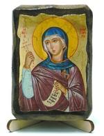 Маргарита, Св.Мч, икона под старину, на дереве (8x10)