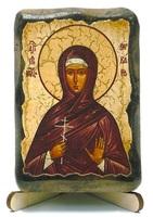 Варвара, Св.Муч., икона под старину, на дереве (8x10)