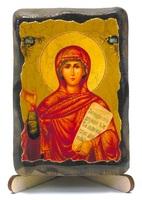 Анна Св. Пр., икона под старину, на дереве (8x10)