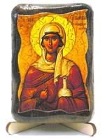 Анастасия, Св.Мч., икона под старину, на дереве (8x10)