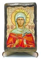 Наталия, Св.Мч., икона под старину, на дереве (8x10)