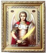 Михаил, Арх., (пояс). Икона в багетной рамке 19 Х 22