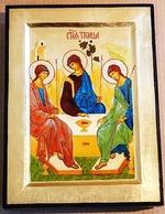 Троица, икона Греческая, 17 Х 23