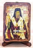 Дионисий Закинфский, икона под старину, сургуч (8 Х 10)