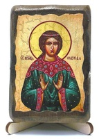 Надежда, Св.Муч., икона под старину, на дереве (8x10)