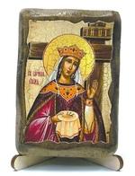 Елена Св.Рн.Ап.Цр., икона под старину, на дереве (8x10)