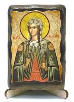 Светлана (Фотинния), Св. муч., икона под старину, на дереве (8x10)