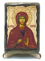 Марина, Св.Муч., икона под старину, на дереве (8x10)