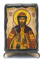 Игорь Черниговский, Св.Вел.Князь, икона под старину, на дереве (8x10)