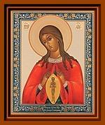 Помощница в родах (2). Малая аналойная икона