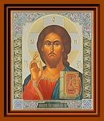 Спаситель (10). Малая аналойная икона