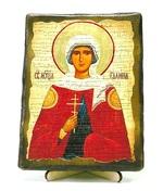 Галина, Св.Мч, икона под старину, на дереве (13х17)