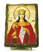 Варвара, Св.Муч, икона под старину, на дереве (13х17)
