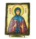 Ангелина, Св.Муч, икона под старину, на дереве (13х17)