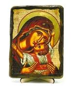 Кардиотисса Б.М., икона под старину, на дереве (13х17)