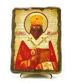 Аркадий, Св.Муч., икона под старину, на дереве (13х17)