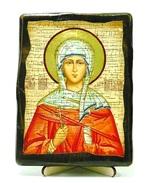 Наталия, Св.Мч, икона под старину, на дереве (13х17)