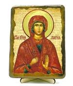Марина, Св.Муч, икона под старину, на дереве (13х17)