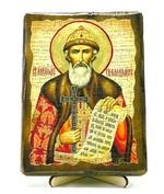 Владимир, Св.Князь, икона под старину, на дереве (13х17)