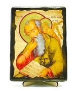 Иоанн Богослов, икона под старину, на дереве (13х17)