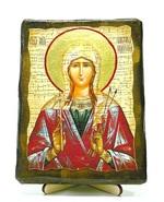 Виктория, Св.Муч, икона под старину, на дереве (13х17)