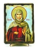 София, Св. Мч., икона под старину, на дереве (13х17)