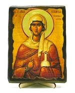 Анастасия, Св.Мч, икона под старину, на дереве (13х17)