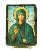 Параскева Пятница, Св. Вмч., икона под старину, на дереве (13х17)