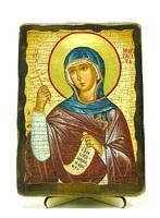 Маргарита, Св.Мч, икона под старину, на дереве (13х17)