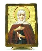 Анна, Св.Пр., икона под старину, на дереве (13х17)