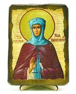 Зоя Вифлеемская, Св.ПрПд., икона под старину, на дереве (13х17)