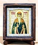 Вадим Св.Муч., Икона Византикос, полуоклад, 8Х6